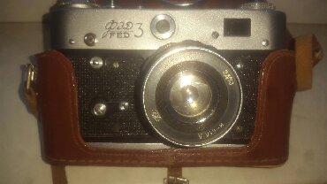 фотоаппарат зоркий в Азербайджан: FED 3 fotoaparatı.Satılır.CCCP istehsalıdır. Qiyməti 250 manatdı.Əşya