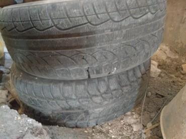 Шины 2 шт размер 205 55 Р16 в Кызыл-Суу