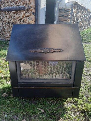 Ostalo | Ivanjica: Prodajem pec (kamin) rustik Alfa plam.Pec je u solidnom stanju,prodaje