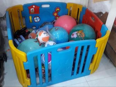Детский мир в Тауз: Plastik manej,diametri 120,370m,anbardan birbaşa satişi,çatdirilma