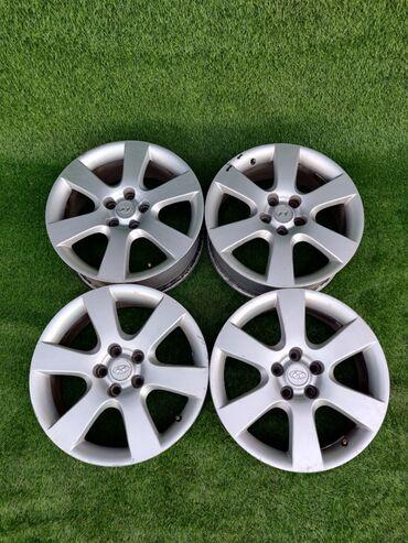 купить диски для машины в Кыргызстан: Диски HYUNDAIДиаметр R18Сверловка 5*114.3Ширина 7.5j et50Диски без