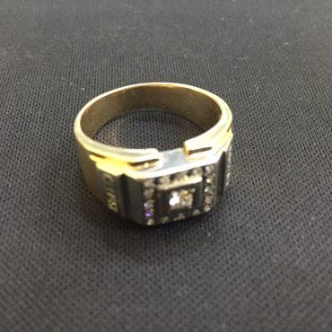 Мужской золотой перстень с в Бишкек