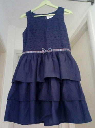 H&M haljina sa karnerima,za devojčice,mada može biti I za - Obrenovac