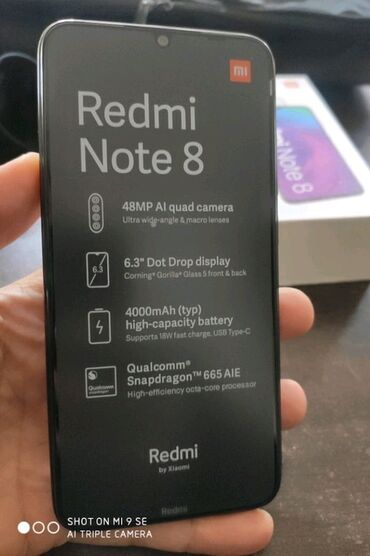 Б/у Xiaomi Redmi Note 8 32 ГБ Синий