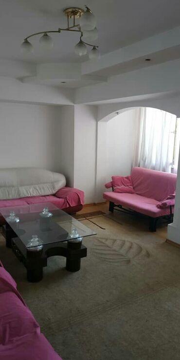 Долгосрочная аренда квартир - 2 комнаты - Бишкек: 2 комнаты, 80 кв. м С мебелью