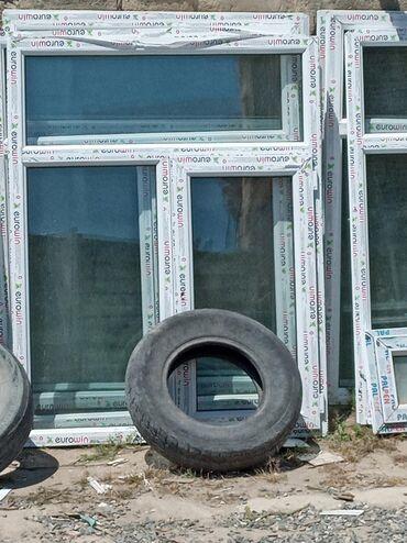 Pəncərələr - Azərbaycan: 120 eni 155 hundurluk teze plastiq pencerelər 90 manat 1 ededi Bine