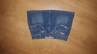 Mini teksas suknja vel. 29 - Prokuplje