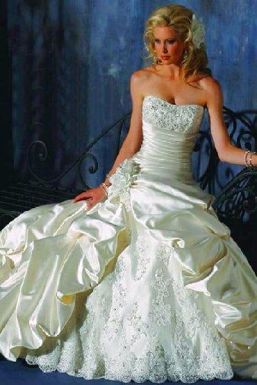 Свадебное платье, цвет айвори, размер 42-44-46, на рост от 163 до 180