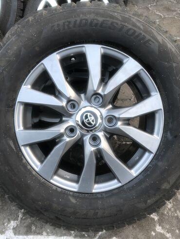 Продаю диски+шины от toyota land cruiser 200 от 2016 года 285/60 r18
