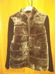 Женская одежда в Лебединовка: Кофта жилетка натуралка(мутон)новая фирма Алия