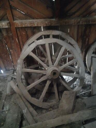 продам лотки для яиц бу в Кыргызстан: Деревянная колесо 6 шт для антиквариата состояния отличная