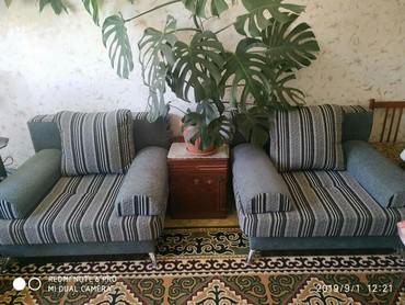 Продаю Мебель почти новый диван раскладной  в Каракол