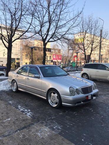 запчасти на мерседес w210 в Кыргызстан: Mercedes-Benz E-класс AMG 5.5 л. 2001