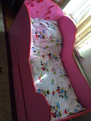 Продаю детскую кровать для девочки ) с в Токмак