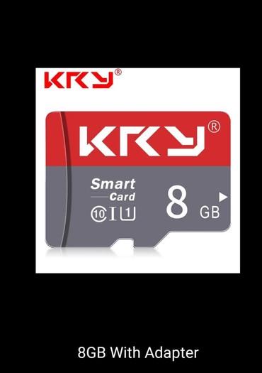 micro-sd - Azərbaycan: 8 GB Mikro kard SD - 100 % Orijinal / KRYMicroMikroCardKardSDTel