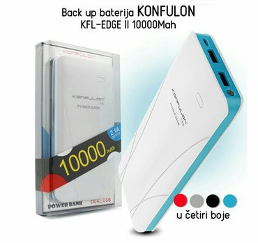 Back up baterija konfulon kfl-edge ii 10000mah. U ponudi imamo - Belgrade