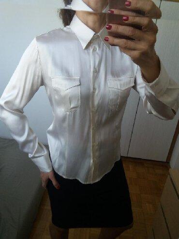 Ika-bluza-jaknica-italijanskog-brenda-biaggini - Srbija: Predivna svilena košulja prestižnog italijanskog brenda Antonelli