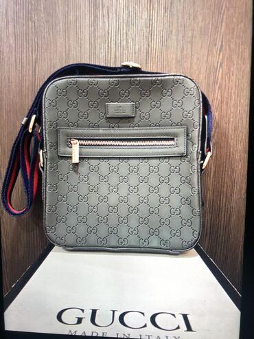 сумка в Кыргызстан: Продаю барсетку Gucci люксовая реплика один в один с оригиналом, все