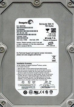 "seagate barracuda 80gb в Кыргызстан: Жесткий диск 750GB HDD SATA-16MB Seagate ""Barracuda 7200.10 STAS"""
