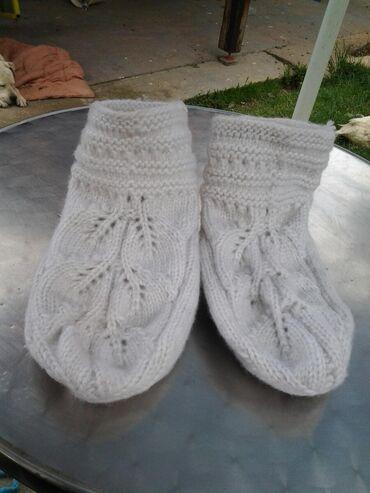 Bele pantofne
