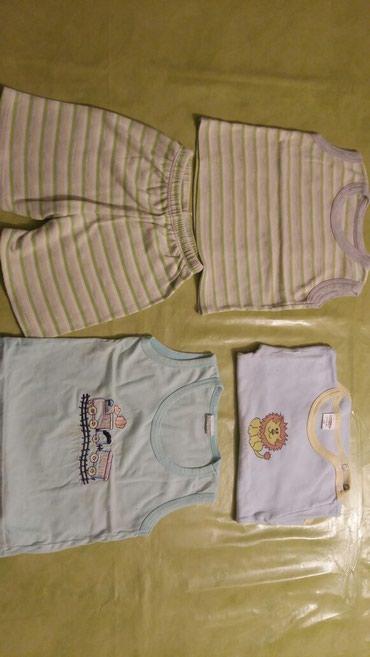 Majica i sorc za bebe vel. 1god.majica na bratele i bodi - Petrovac na Mlavi