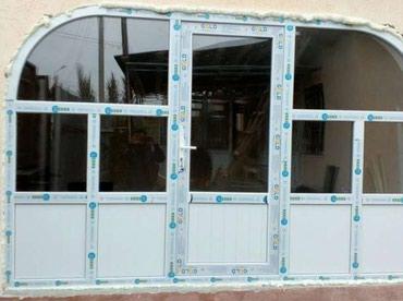 Металлопластиковые окна, двери, в Бишкек