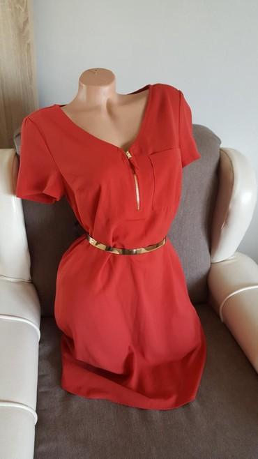 Nova c&a yessica haljina, vel 36/s,crvene boje. Kais ne ide uz - Arandjelovac
