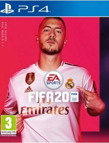 Sony 2 - Srbija: Prodajem skoro novu igricu PS4, Fifa 2020 (2 ikonik igraca)Cena