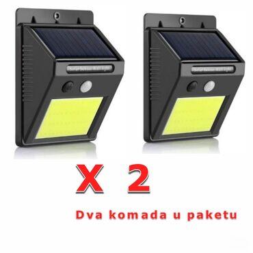 Rasveta   Pancevo: Zidna led lampa sa senzorom pokreta i dan/noć - Model 2 x 2> >