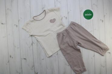 Дитячий костюм для дівчинки (футболка, штани)    Футболка Довжина: 39