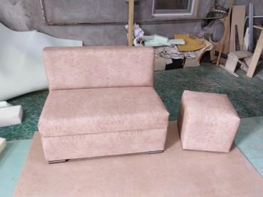 Bakı şəhərində Cay evi ofis gozelik salonu divanları hazırlanır