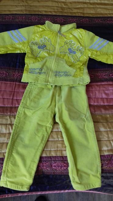 Костюм на 1,5;2 годика, состояние хорошее, куртка на подкладе, на