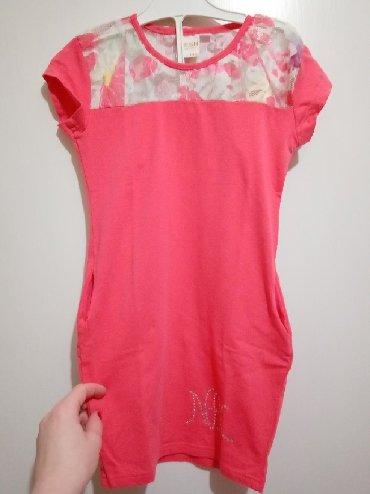Decije haljine - Nova Varos: Nova pamucna haljina za devojcice.Sa strane ima dzepove.Velicina