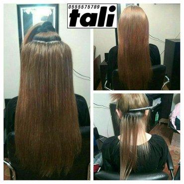 наращивание натуральных волос , 1000 сом до 120 капсул. есть в наличии в Бишкек - фото 3