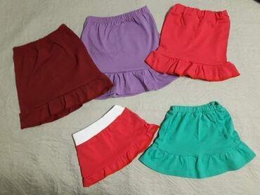 Ženska odeća | Rumenka: Pamučne suknjice 100% pamukVeličine 74-10 moguće i većeCena 550