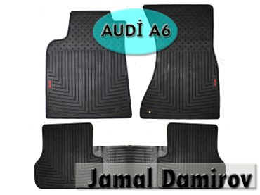 audi a6 28 at - Azərbaycan: Audi A6 üçün silikon ayaqaltilarСиликоновые коврики для Audi A6