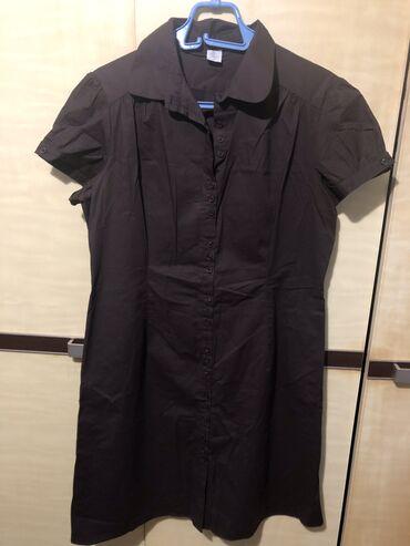 Nova italijanska haljina velicina XL tamno braon
