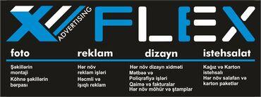 Reklam, poliqrafiya - Azərbaycan: Flex Reklam şirkəti sizin xidmətinizdədir. Hər Növ