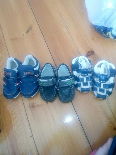 Uşaq ayaqqabıları Xırdalanda: Oglan usaqna ayaqqabilar.yaxsi veziyyetdedi.3 yasa geder.hamsi