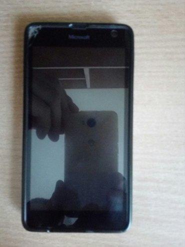 Lumia 535 dual sim. U gornjem levom uglu ostecena staklena zastita, ta - Cacak