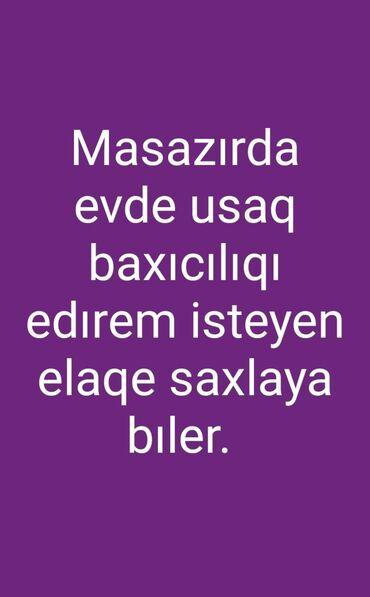 İş axtarıram (rezümelər) - Azərbaycan: Dayələr