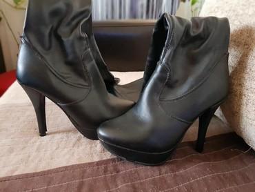 Ženske kožne čizme broj 36 - Kragujevac