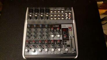 музыкальные центры в Кыргызстан: Микшерный пульт Микшерский пуль BEHRINGER QX 1202 USB  премиум-класса