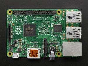 Raspberri pi 2 model b. Mini kompyuter.Təzədir. 3 ədəd var.Mini в Lənkəran