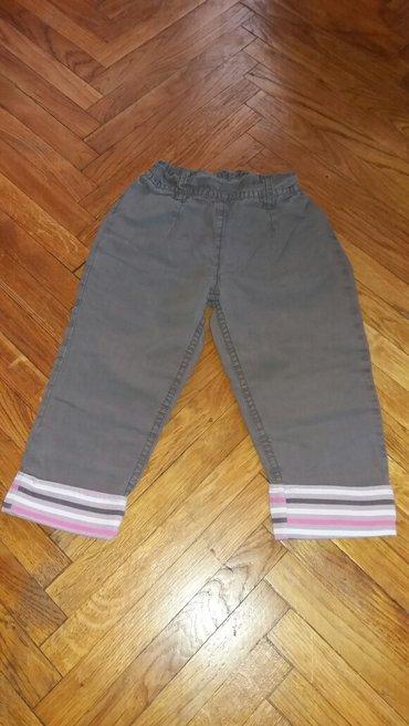 Pantalone, za 2-3 godine. Braon pantalonice od tanjeg kepera, - Belgrade
