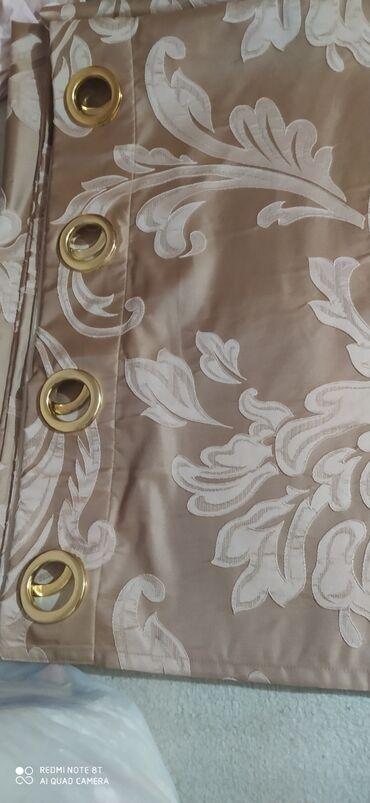 тюл в Кыргызстан: Продам шторы новые 2шт- 1,5 метра ширина, высота 2 метра. Тюль 3м