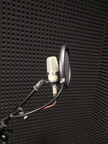студия звукозаписи комплектация в Кыргызстан: Студия звукозаписи Запись песен любого уровня Запись вокала Запись