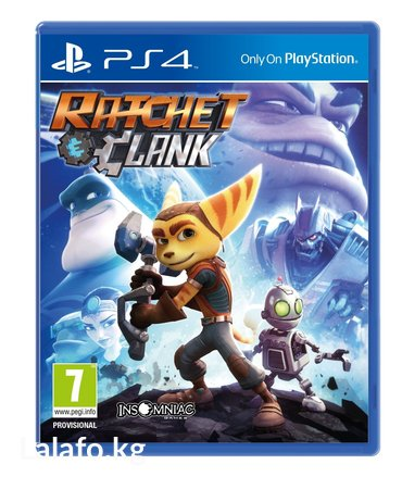 Ratchet and clank ps4 в Бишкек
