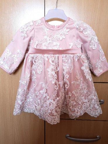 Od haljina cipke - Srbija: Haljinica od cipke za devojcice u velicini od 6 do 12 meseci. Jednom