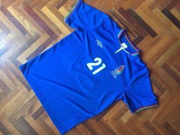 Bakı şəhərində Affa futbol uzre milli yigma komandasinin original umbro formasi, m ra